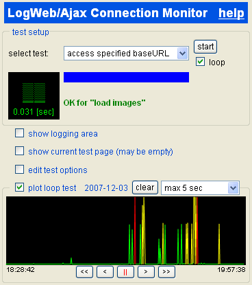 connection monitor example